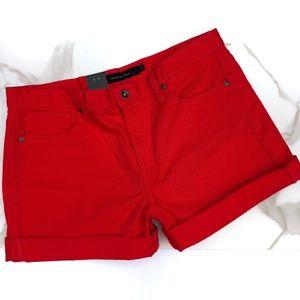 Calvin Klein Jeans Red Shorts